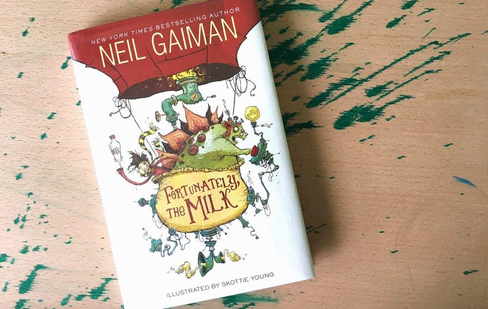 خوشبختانه شیر اثر نیل گیمن نسخهی انگلیسی