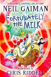 کاور نسخهی انگلیسی کتاب خوشبختانه شیر