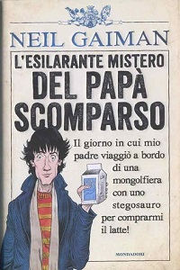 کاور نسخهی ایتالیایی کتاب خوشبختانه شیر
